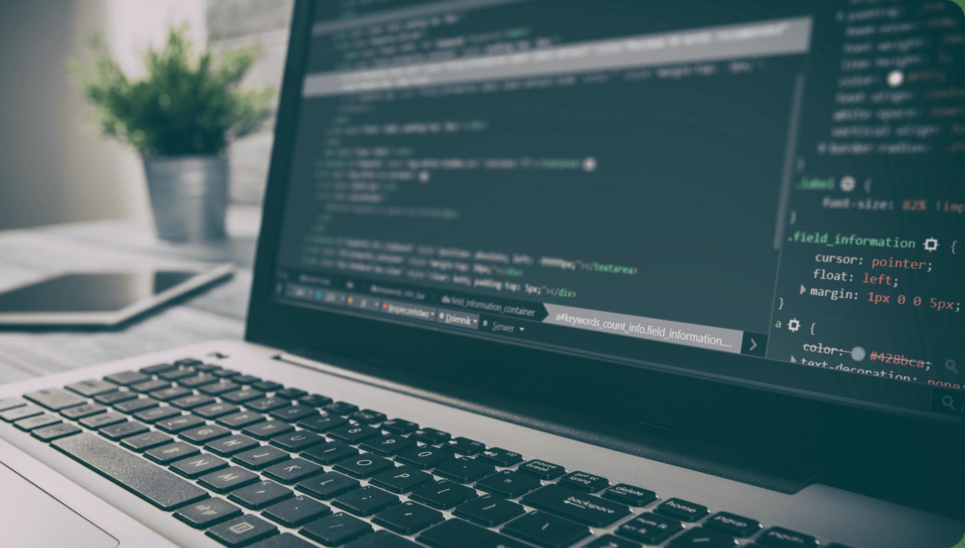 WEBシステム開発のメインビジュアル